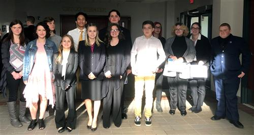 Trojans fare well at DECA competition