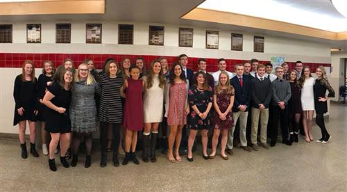 31 Join National Honor Society
